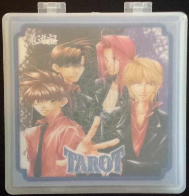 The Gensoumaden Saiyuki Tarot, complete in box.