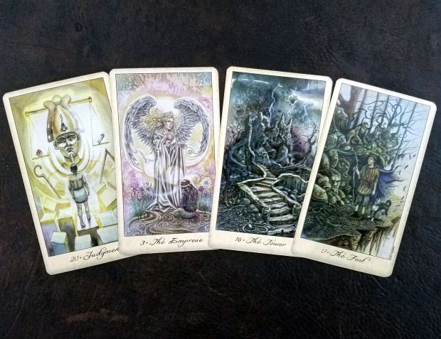 Ghosts & Spirits Tarot by  Lisa Hunt and US Games