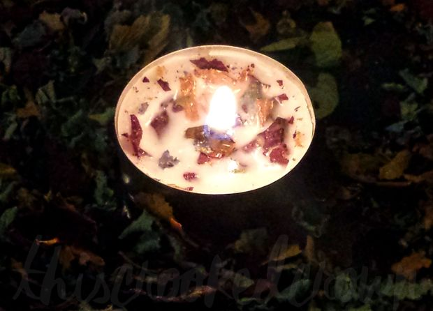 Spell and Herb Candle by This Crooked Crown