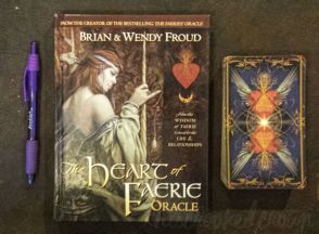 Heart of the Faerie Oracle by Brian Froud and Wendy Froud with Robert Gould © Harry N. Abrams