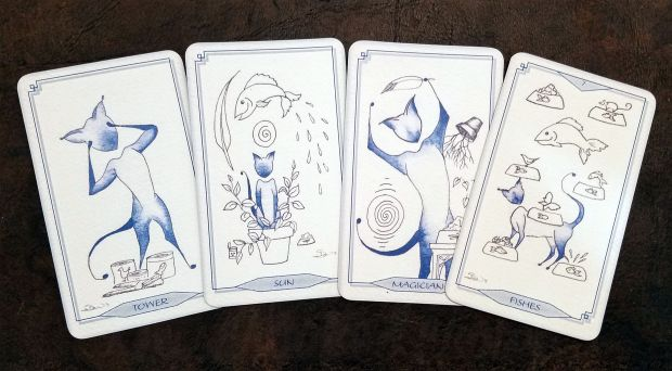 bleu-cat-tarot-06-this-crooked-crown