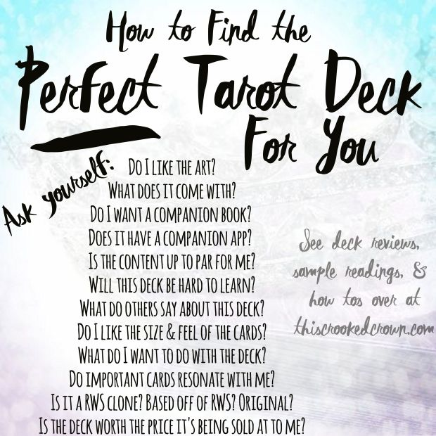 how-to-find-the-perfect-tarot-deck-for-you-by-this-crooked-crown