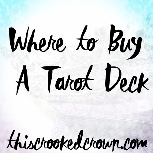 Where to Buy A Tarot Deck