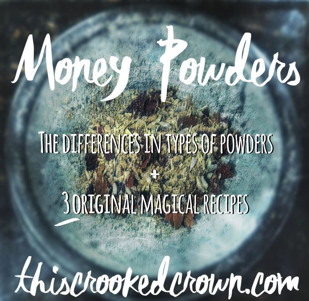 For All Sorts of Money Powder by This Crooked Crown