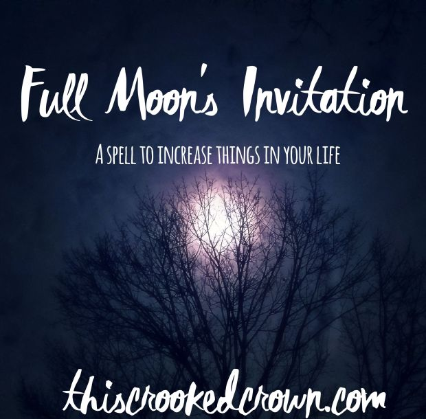 Full Moon's Invitation by This Crooked Crown